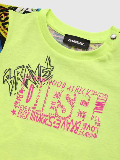 Diesel - TAIRB, Neongrün - T-Shirts und Tops - Image 3