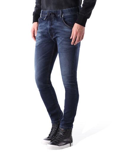 Diesel - Krooley JoggJeans 0848K, Dunkelblau - Jeans - Image 2