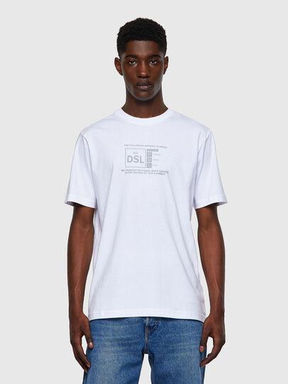 Diesel - T-JUST-A35, Weiß - T-Shirts - Image 1