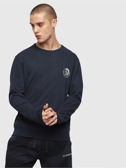 Diesel - UMLT-WILLY, Marineblau - Sweatshirts - Image 1