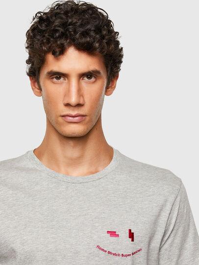 Diesel - T-DIEGOS-N28, Grau - T-Shirts - Image 3