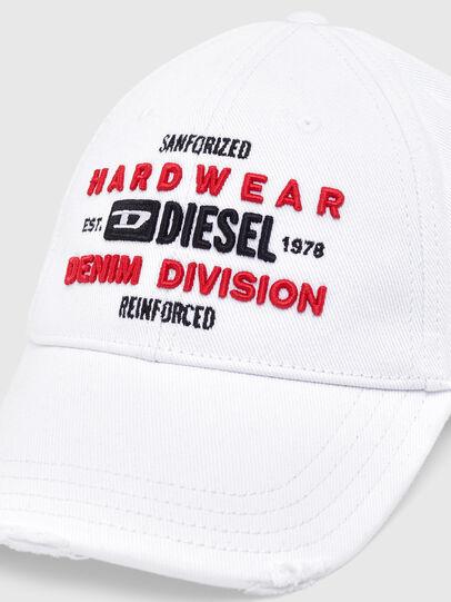 Diesel - C-DIVISION, Weiß - Hüte - Image 3