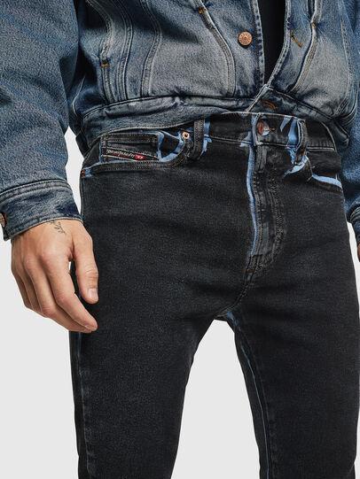 Diesel - D-Istort 0094B, Dunkelblau - Jeans - Image 3