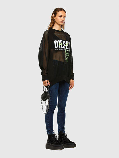 Diesel - D-Roisin 009CY, Dunkelblau - Jeans - Image 5