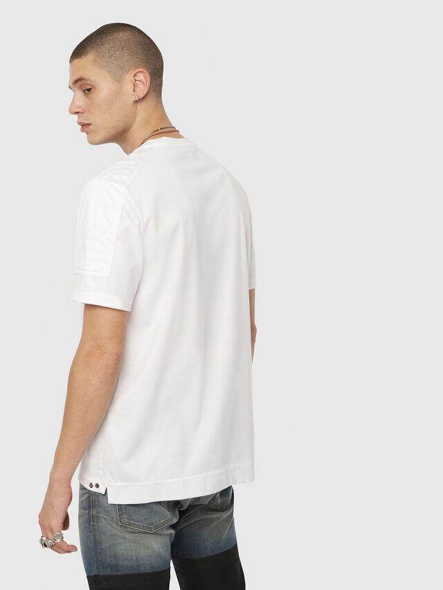 Diesel - T-SADAO, Weiß - T-Shirts - Image 2