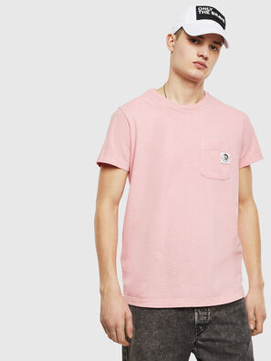 T-WORKY-MOHI-S1, Rosa - T-Shirts