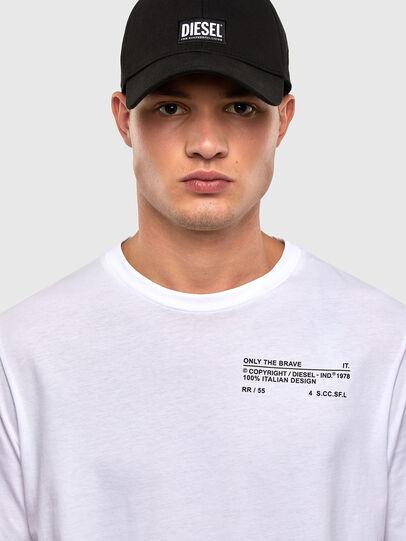 Diesel - T-JUST-LS-N62, Weiß - T-Shirts - Image 4