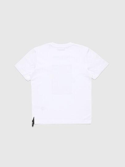 Diesel - TJUSTY7, Weiß - T-Shirts und Tops - Image 2