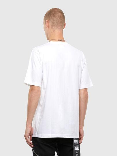 Diesel - T-TUBOLAR-N4, Weiß - T-Shirts - Image 2
