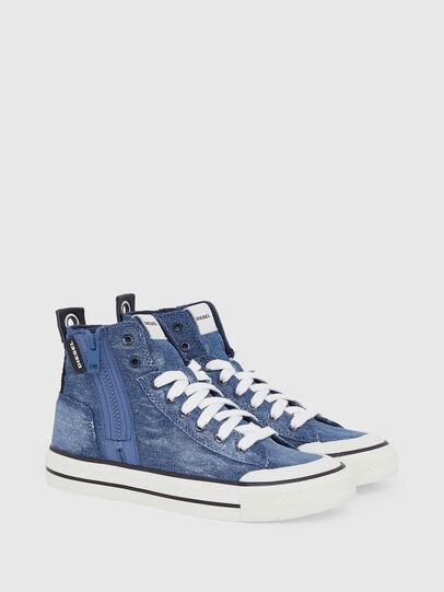 Diesel - S-ASTICO MID ZIP W, Jeansblau - Sneakers - Image 2