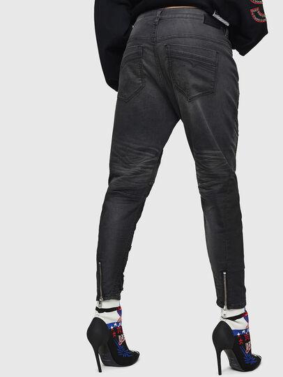 Diesel - Fayza JoggJeans 069GN, Schwarz/Dunkelgrau - Jeans - Image 2