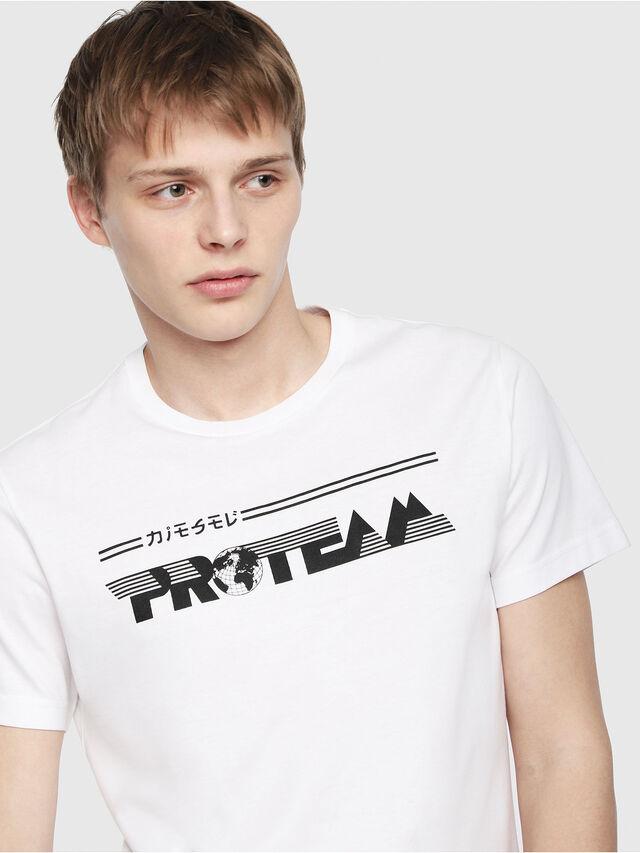 Diesel - T-DIEGO-YB, Weiß - T-Shirts - Image 3