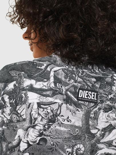Diesel - C-FRY, Schwarz/Weiß - Hemden - Image 5