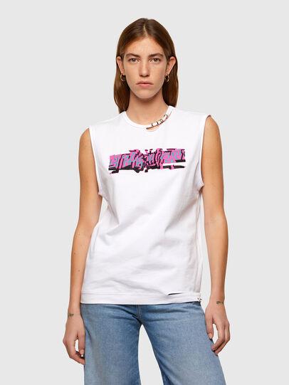 Diesel - T-BULL, Weiß - T-Shirts - Image 1