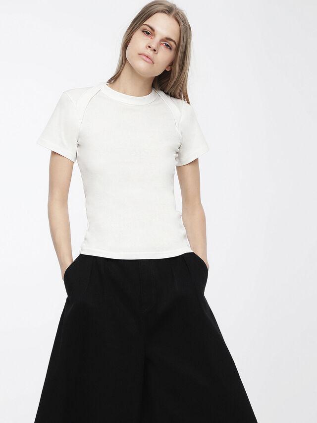 Diesel - T-SALI-A, Weiß - T-Shirts - Image 1