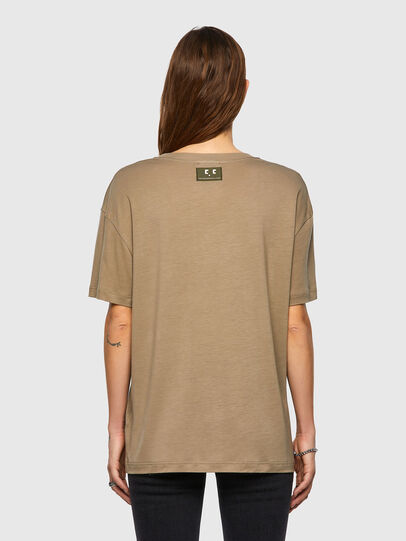 Diesel - T-ENKA-C.C, Hellbraun - T-Shirts - Image 2