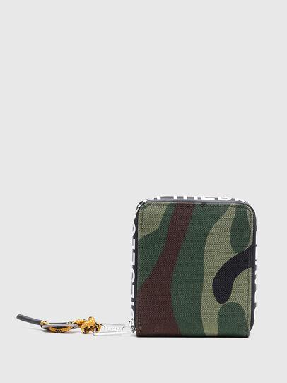 Diesel - HIRESH XS ZIPPI, Bunt/Braun - Portemonnaies Zip-Around - Image 2