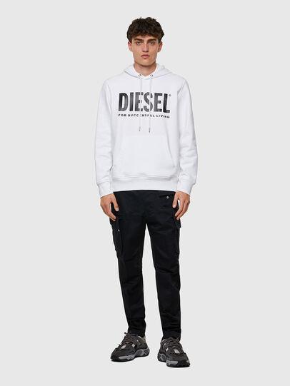 Diesel - S-GIRK-HOOD-ECOLOGO, Weiß - Sweatshirts - Image 4