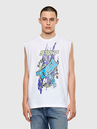 Diesel - T-OP, Weiß - T-Shirts - Image 1