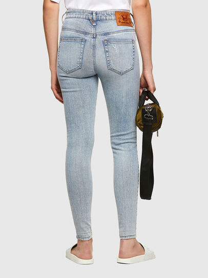 Diesel - Slandy High 009TG, Hellblau - Jeans - Image 2