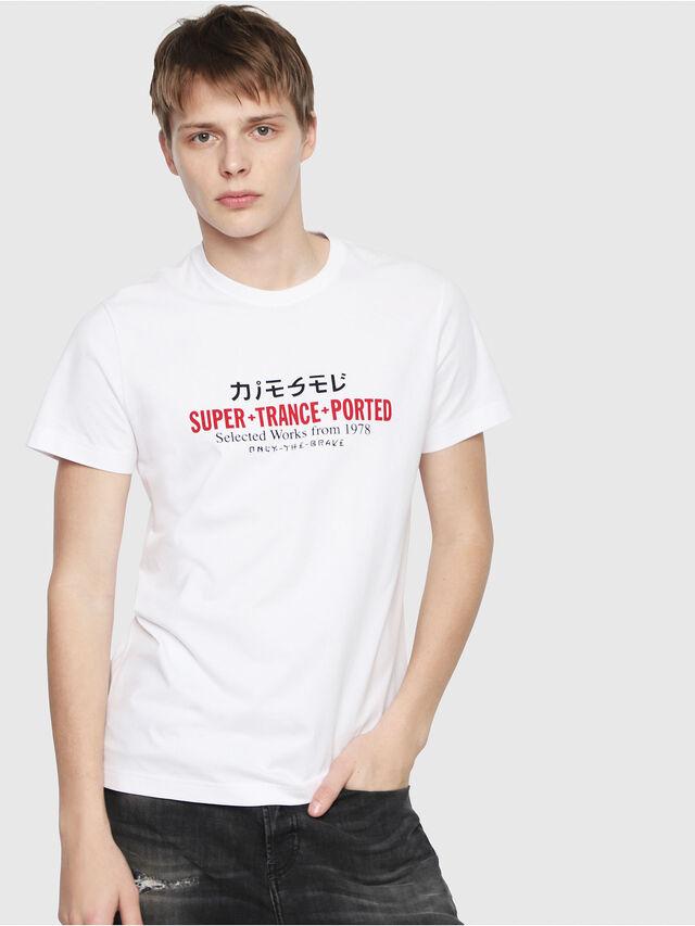 Diesel - T-DIEGO-Y1, Weiß - T-Shirts - Image 1