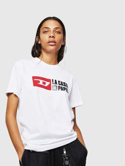 Diesel - LCP-T-DIEGO-CASA, Weiß - T-Shirts - Image 2