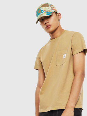 T-WORKY-MOHI-S1, Beige - T-Shirts