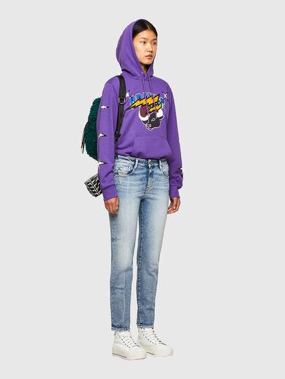 Diesel - CL-S-GIRK-HOOD-O1, Violett - Sweatshirts - Image 8