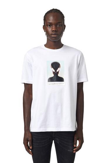 T-Shirt mit Alien-Print