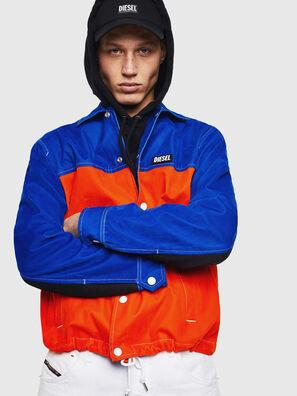 J-BELL, Blau/Rot - Jacken
