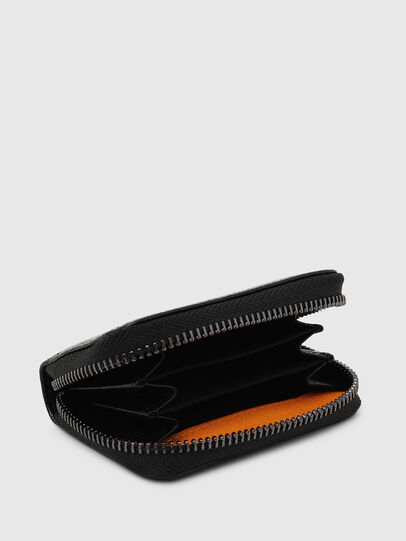 Diesel - JAPAROUND, Schwarz/Orange - Portemonnaies Zip-Around - Image 3