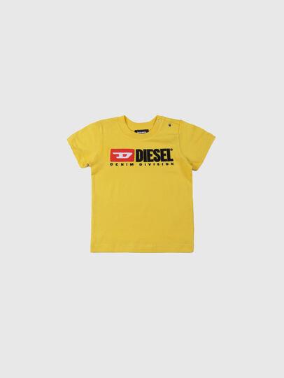Diesel - TJUSTDIVISIONB, Gelb - T-Shirts und Tops - Image 1