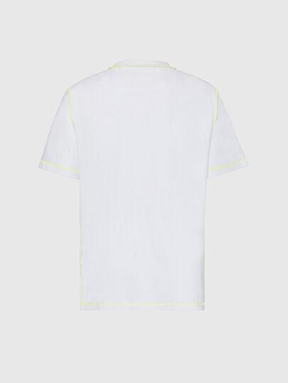 Diesel - T-JUSEAM, Weiß - T-Shirts - Image 2