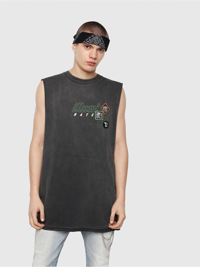 Diesel - T-MINOLESS, Schwarz - T-Shirts - Image 1