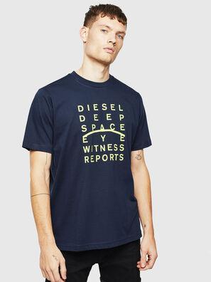 T-JUST-J5, Dunkelblau - T-Shirts
