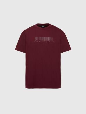 T-JUST-SLITS-X87, Rot - T-Shirts