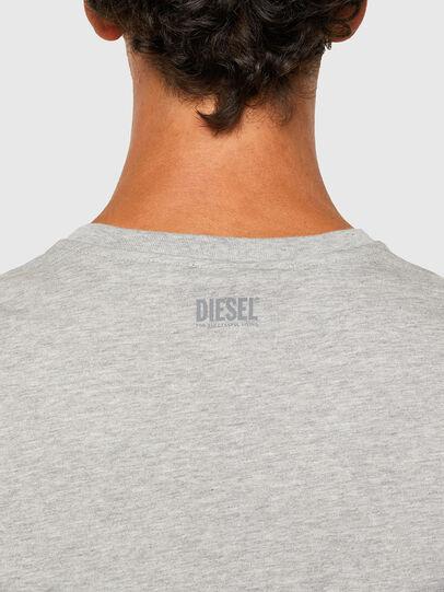 Diesel - T-DIEGOS-N28, Grau - T-Shirts - Image 4
