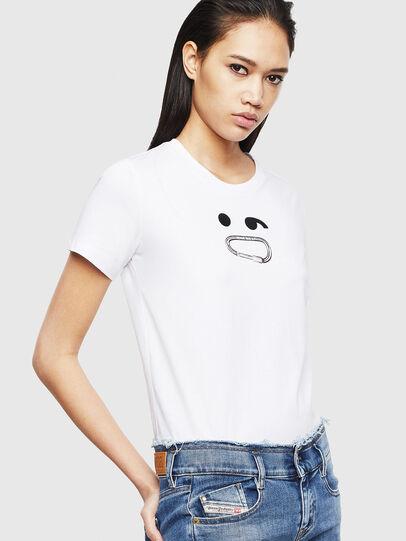 Diesel - T-SILY-S8, Weiß - T-Shirts - Image 4