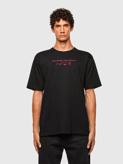 Diesel - T-TUBOLAR-N3, Schwarz - T-Shirts - Image 1