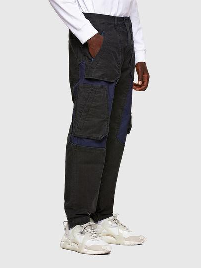 Diesel - D-Eluxerr JoggJeans® 0DDAV, Schwarz/Dunkelgrau - Jeans - Image 2