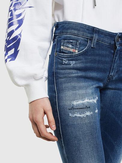 Diesel - Slandy 009IG, Mittelblau - Jeans - Image 5