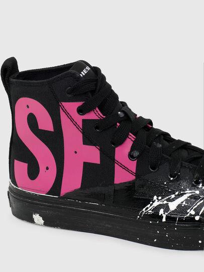 Diesel - S-ASTICO MC W, Schwarz/Rosa - Sneakers - Image 4