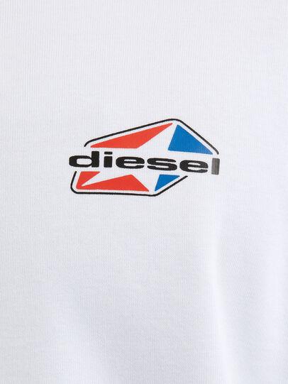 Diesel - S-GIRK-K14, Weiß - Sweatshirts - Image 3