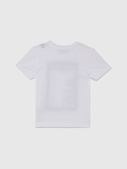 Diesel - TFULL78B-R, Weiß - T-Shirts und Tops - Image 2