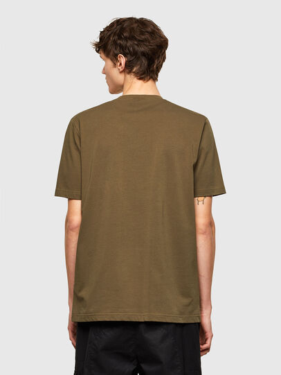 Diesel - T-JUSTEMB, Armeegrün - T-Shirts - Image 2