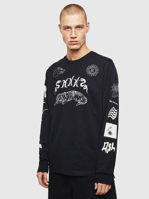 T-JUSTLY, Schwarz - T-Shirts