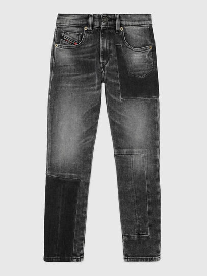 Diesel - D-STRUKT-GO-J, Schwarz/Dunkelgrau - Jeans - Image 1