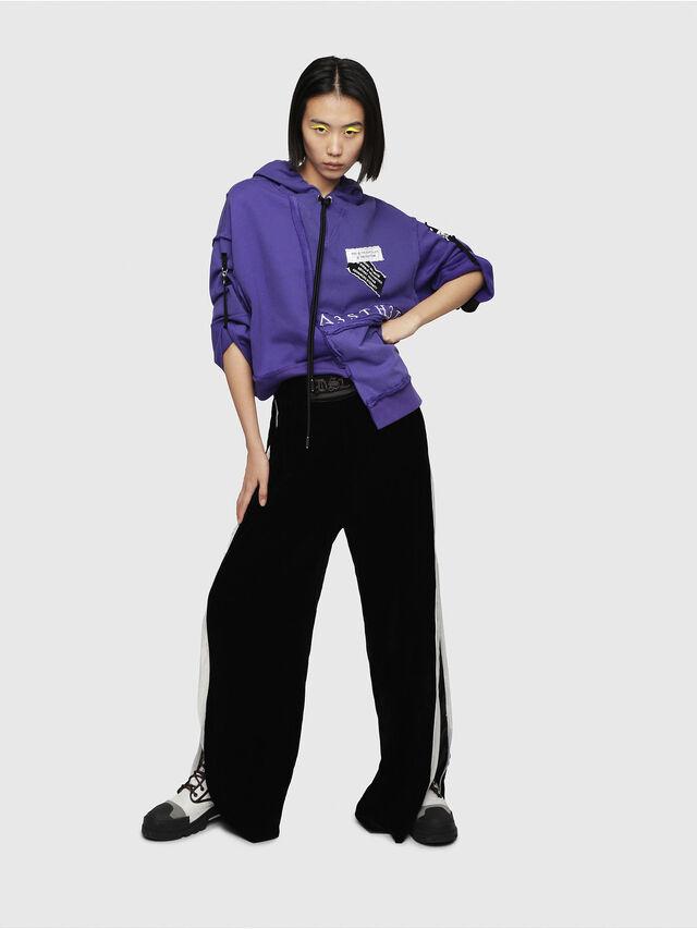 Diesel - F-MIKI, Violett - Sweatshirts - Image 4