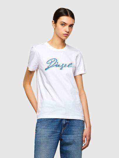 Diesel - T-SILY-K10, Weiß - T-Shirts - Image 1