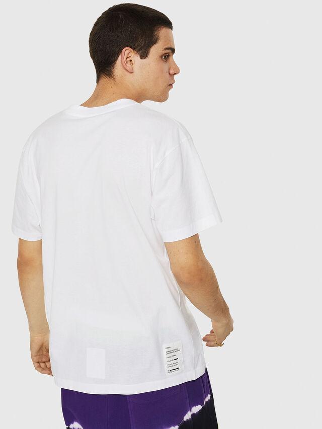 Diesel - T-WALLACE-Y5, Weiß - T-Shirts - Image 2